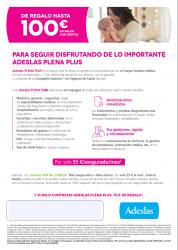 Adeslas Plena Plus Campaña
