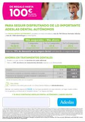 Campaña Adeslas Dental Autónomos