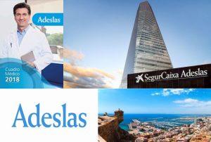 Cuadro Médico Adeslas Alicante