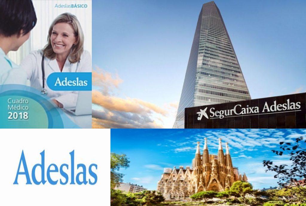 Cuadro Médico Adeslas Básico Barcelona
