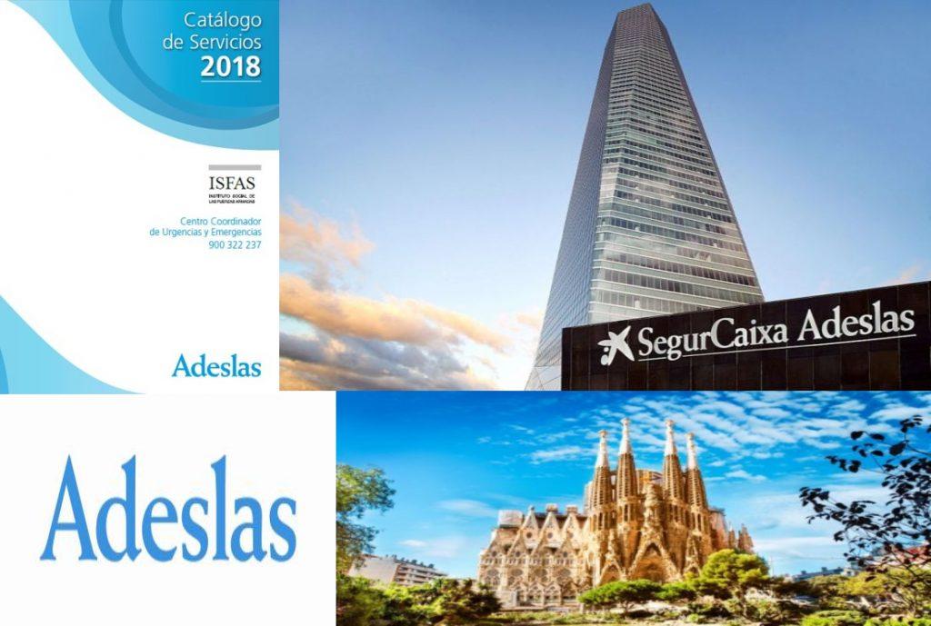 Cuadro Médico Adeslas Isfas Barcelona