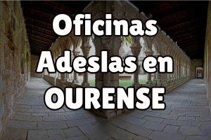 Oficinas Adeslas en Ourense